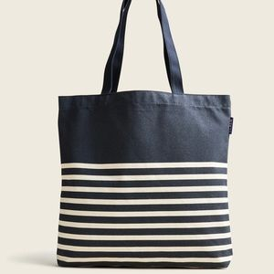 Set of J.Crew Canvas Reusable Everyday Totes (2)